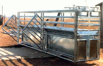 Many styles of roping chutes and head gates to choose from.