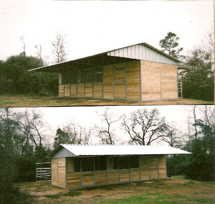 Lonestar custom barns for 8 stall barn plans